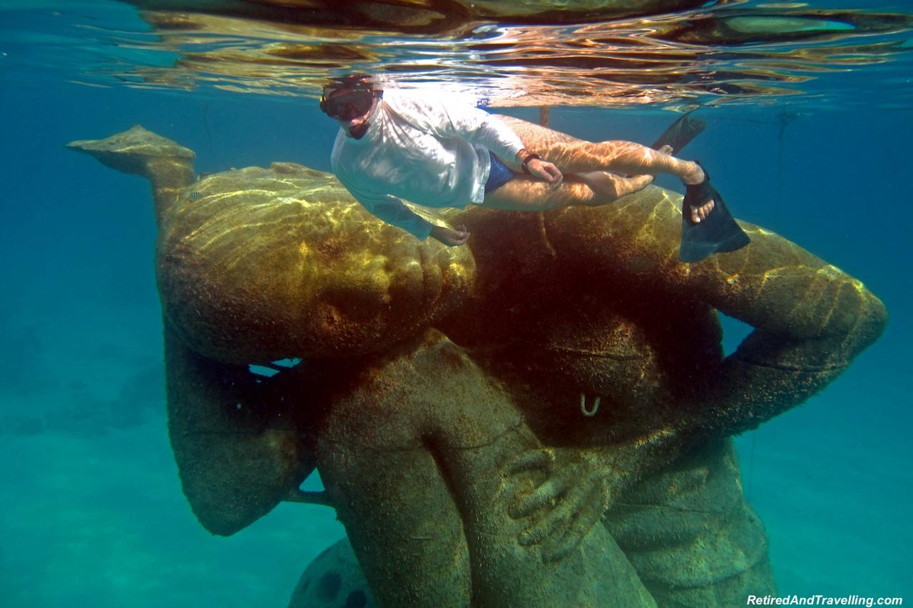 Ocean Atlas Statue Nassau Snorkel - Favourite Travel Blog Posts RetiredAndTravelling.jpg