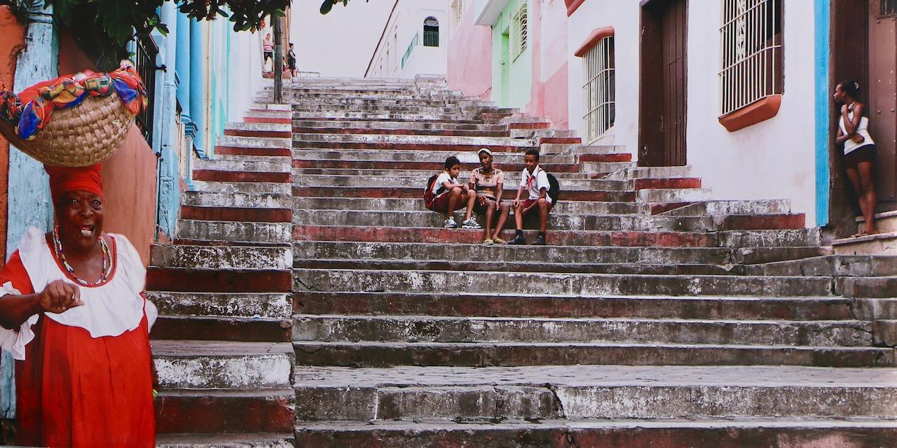 Staircase Santiago de Cuba - Cruise Stops In Santiago de Cuba and Cienfuegos.jpg