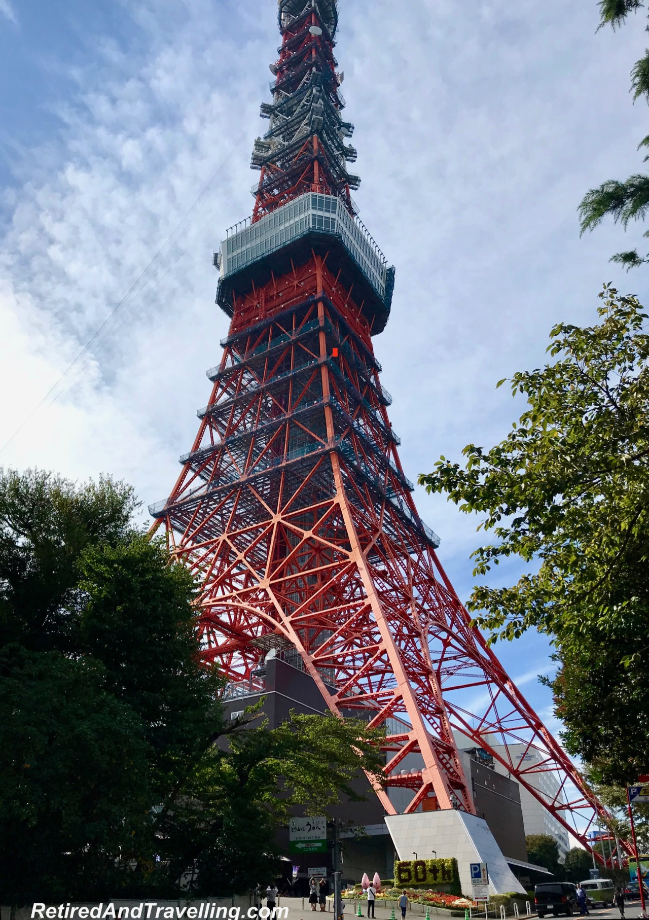 Tokyo Tower - Panoramic View From The Tokyo Tower.jpg