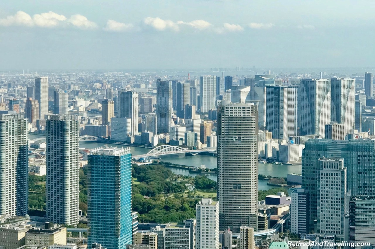 Tokyo Tower Top Deck Tour River View - Panoramic View From The Tokyo Tower.jpg