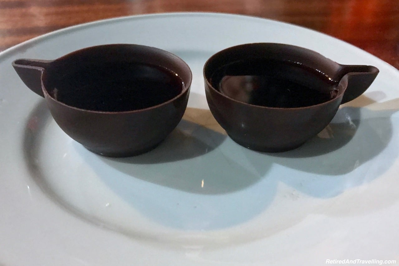 Ginja and chocolate cup Obidos Food and Drink Portugal - 4 Weeks In Portugal.jpg