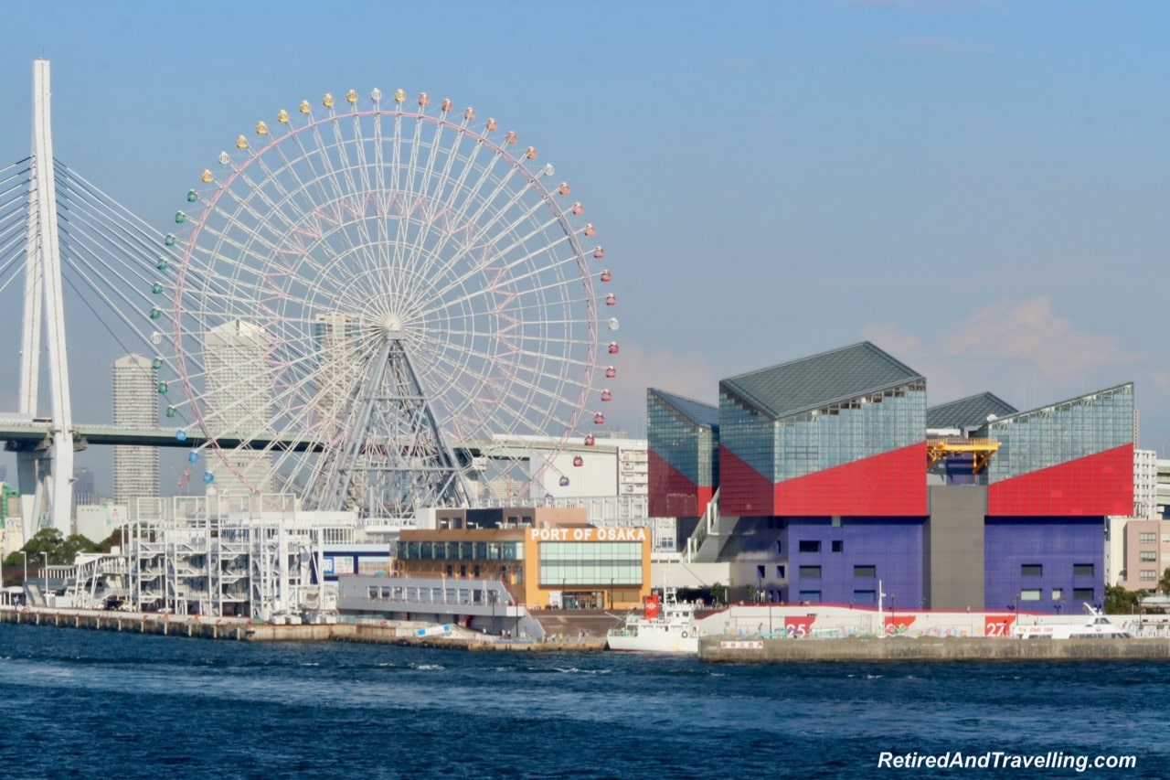 Kaiyukan Aquarium Ferris Wheel Osaka Harbour.jpg