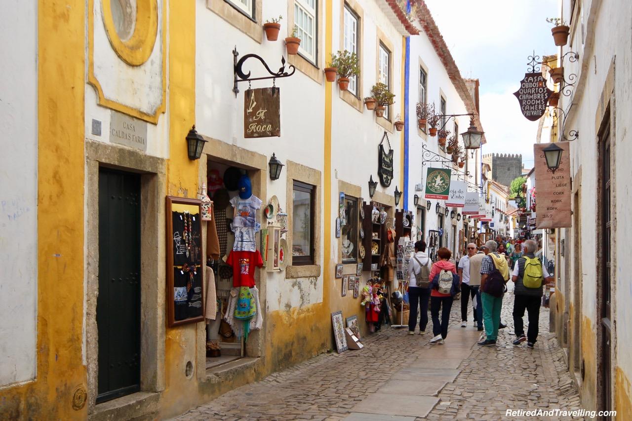 Obidos Tourists Obidos Portugal.jpg