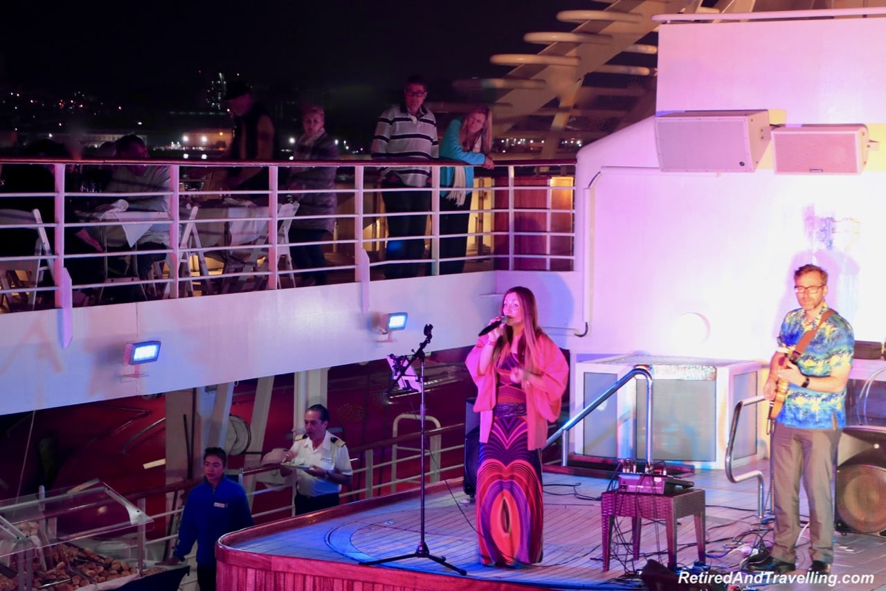 Windstar Cruises buffet and music in Osaka Port overnight.jpg