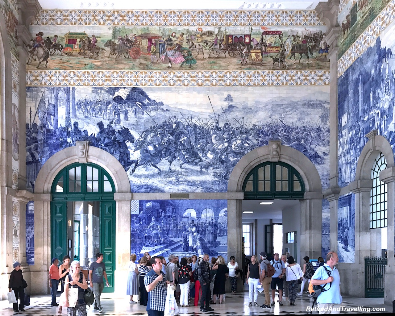 Train Station Tile Artistry Porto Portugal - 4 Weeks In Portugal.jpg