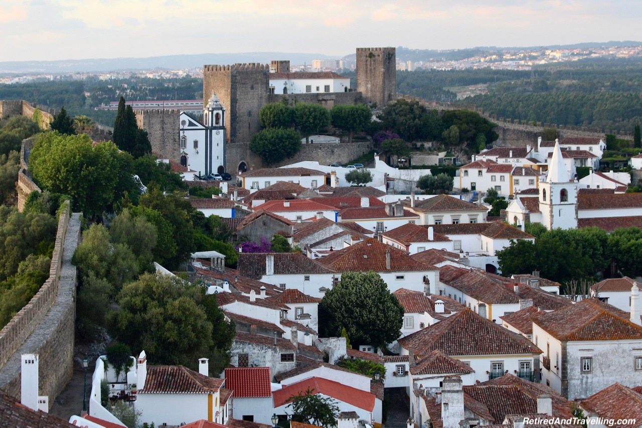 Walk the Walls Obidos Portugal - 4 Weeks In Portugal.jpg