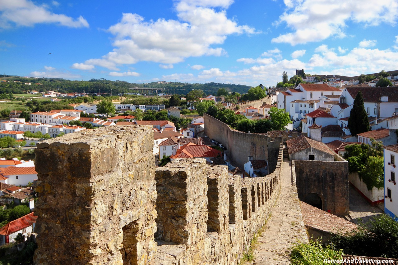 Walk the Walls Obidos Portugal - 4 Weeks In Portugal.jpg