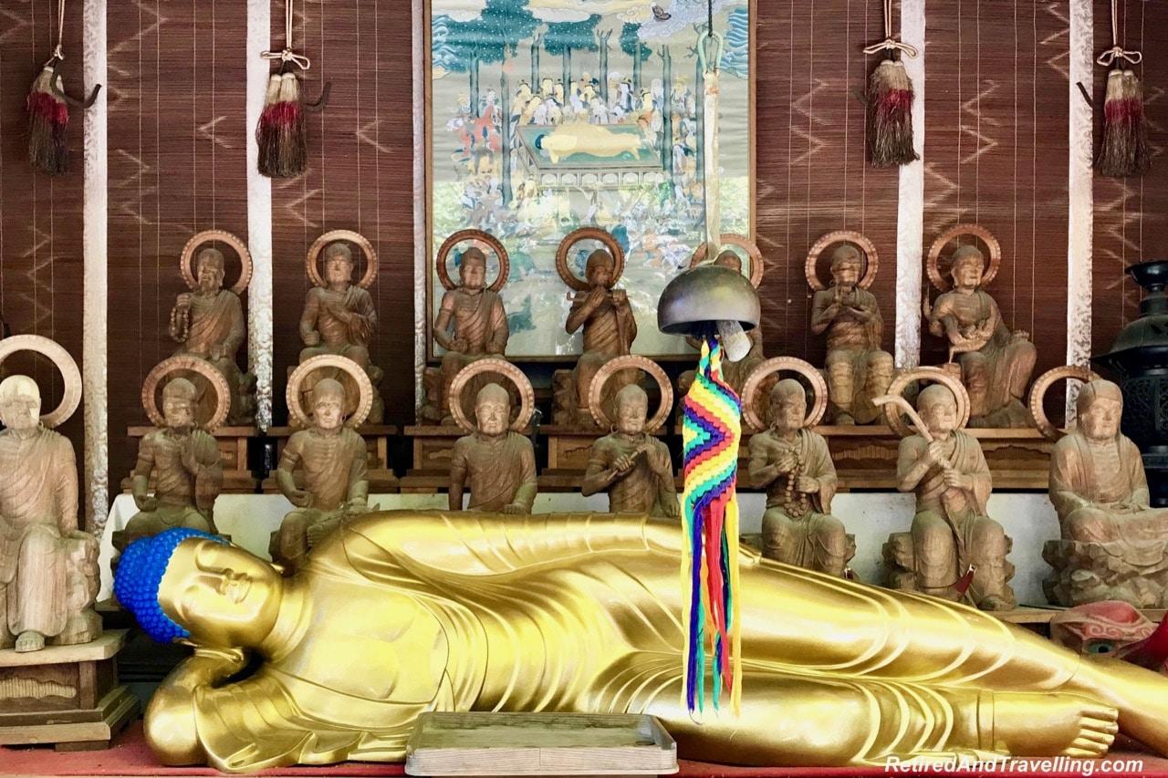 Reclining Shaka Nyorai or Shaka Buddha Daishoin Temple - Miyajima Island When In Hiroshima.jpg