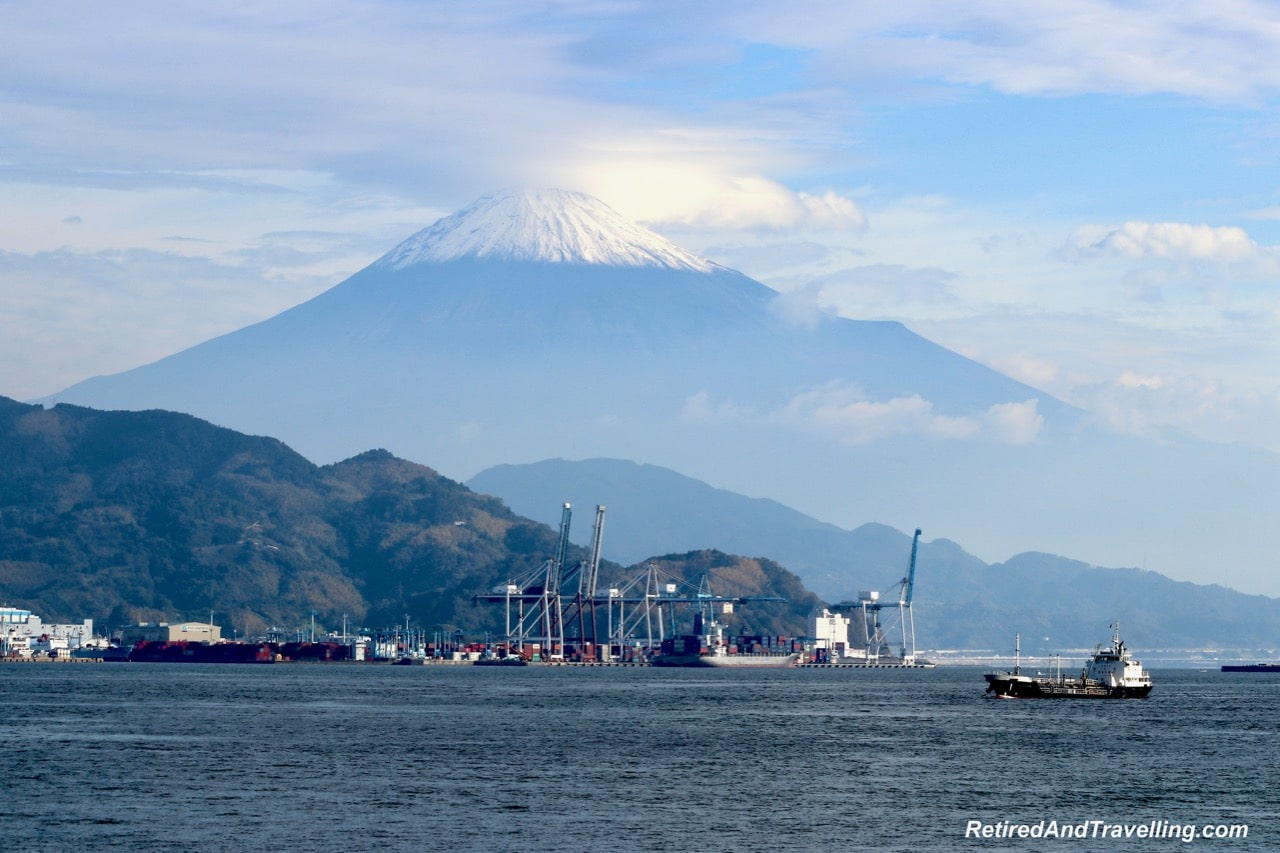 Mt Fuji From Port - Gateway To Mt Fuji In Shimizu.jpg