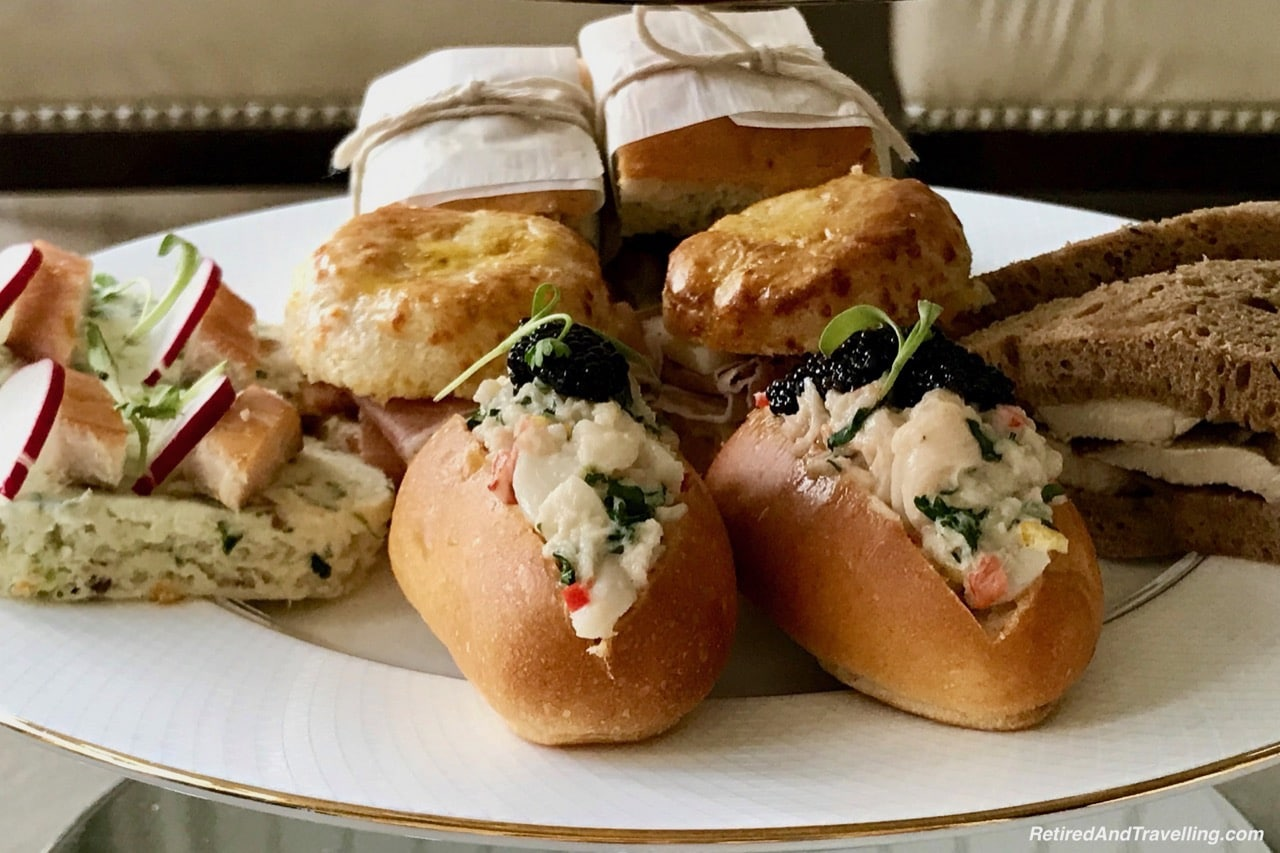 Savoury Delicacies - Afternoon Tea At Ritz-Carlton Grand Cayman.jpg
