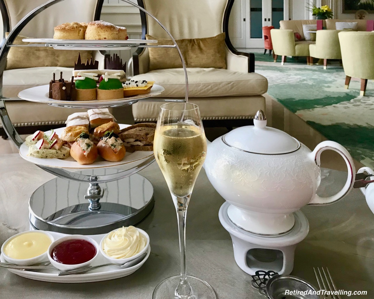 Tea Tray - Afternoon Tea At Ritz-Carlton Grand Cayman.jpg