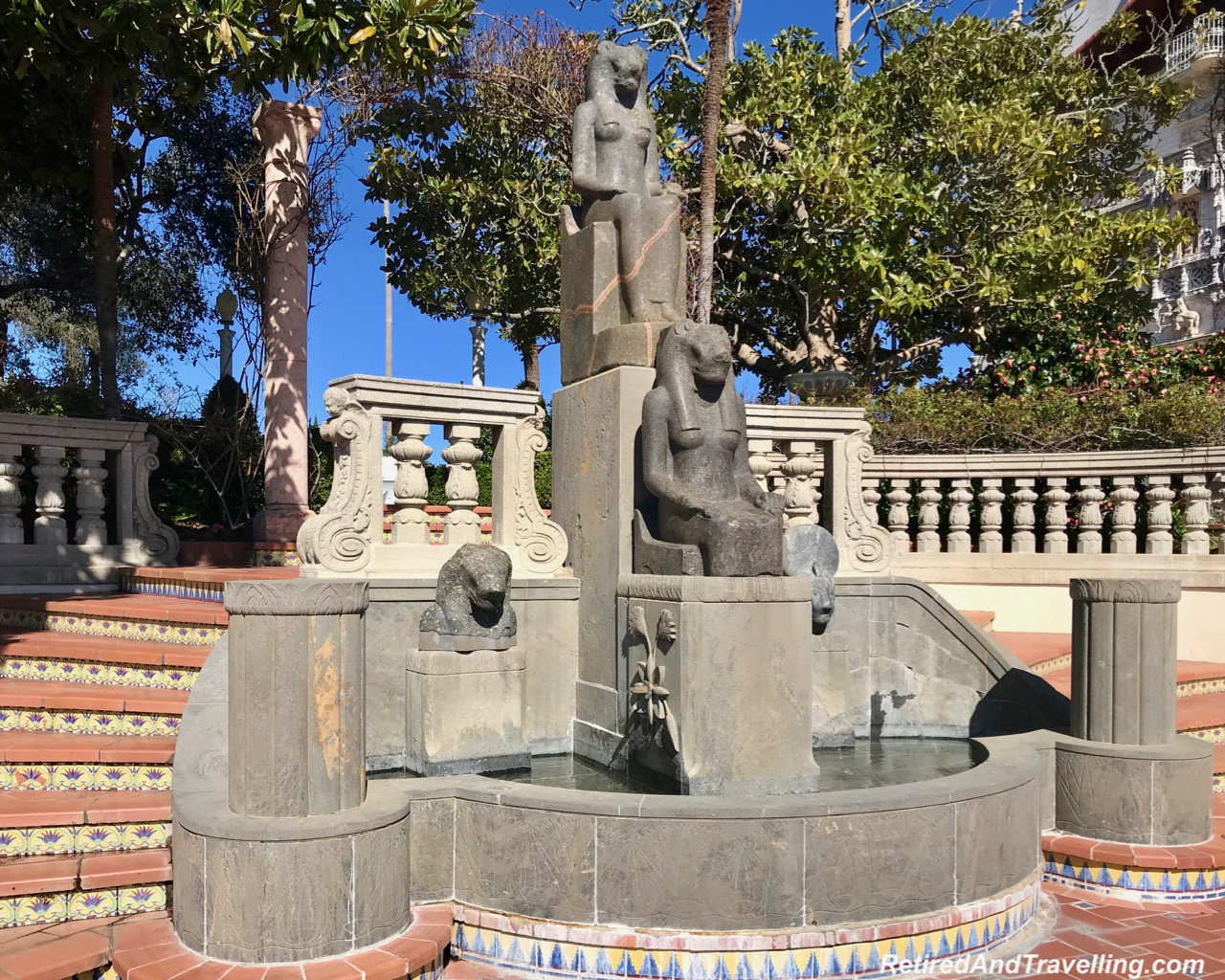 Hearst Grounds Statues Egyptian - Visit The Hearst Castle For Eclectic Sights.jpg