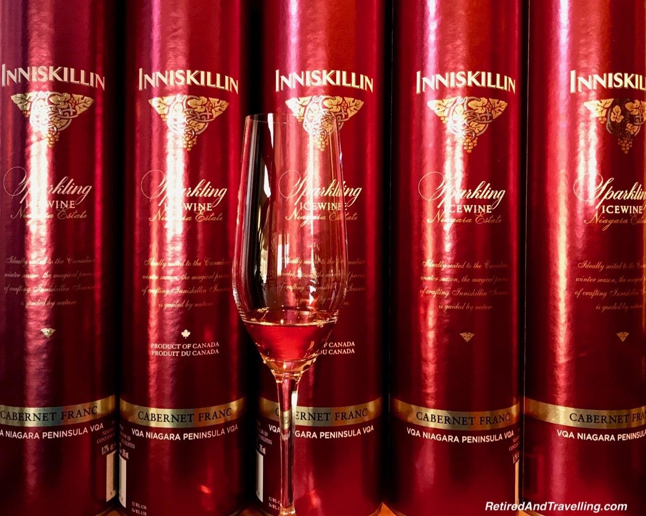 Inniskillin Estate Winery Cabernet Franc Sparkling - Icewine Tasting in Niagara.jpg