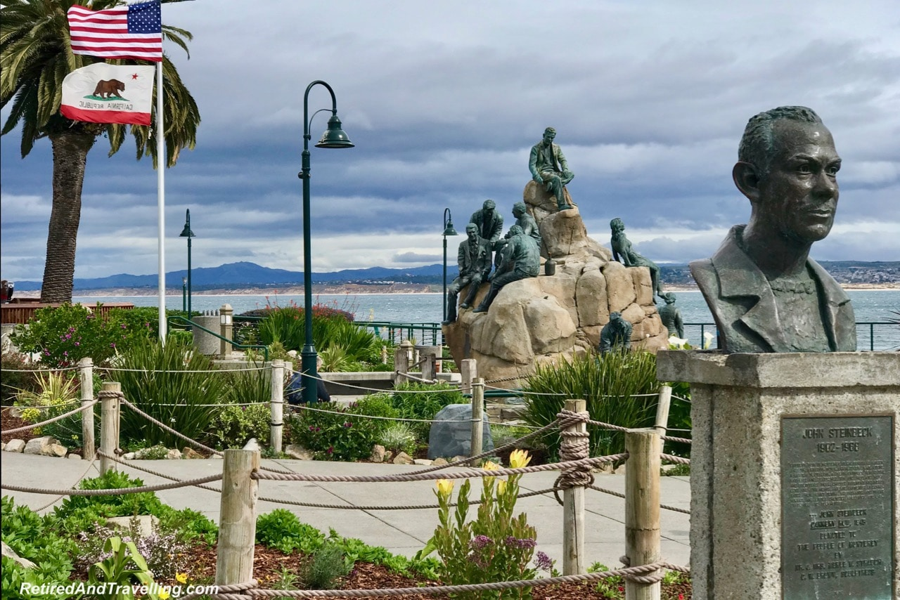 Monterey Cannery Row Monument - Sea Views Of Monterey.jpg