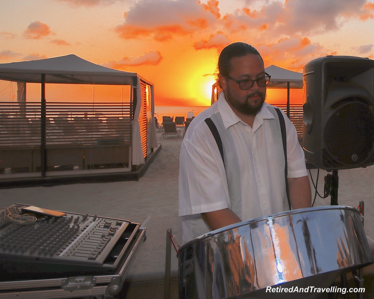 Sunset Band on Beach - Stay At Ritz-Carlton Grand Cayman.jpg