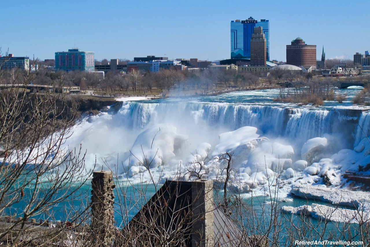 American Falls Viewpoint View - Niagara Falls In Colour.jpg