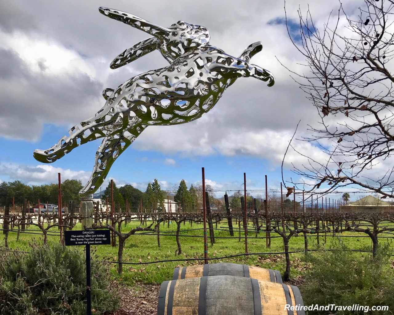 Halls Winery Rabbit Napa Art - Napa For A Weekend Things To Do.jpg