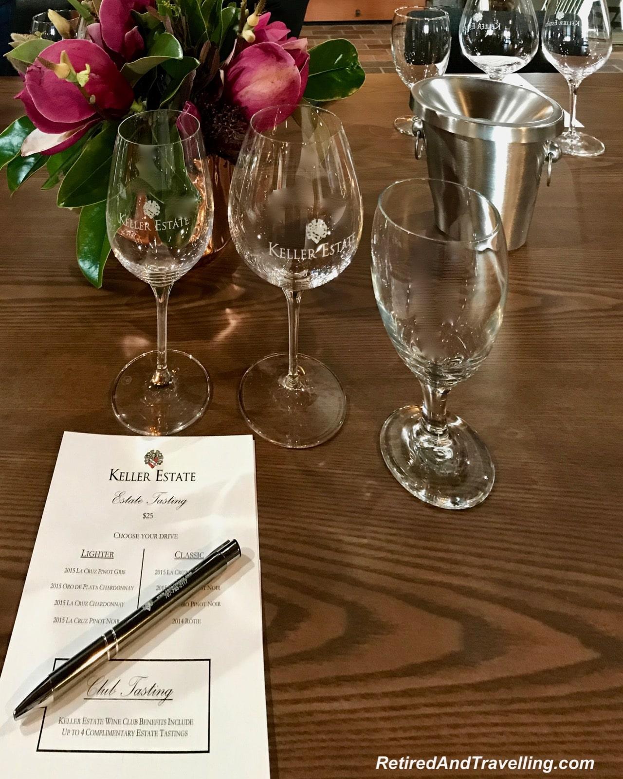 Tasting Menu Keller Estates - Wine Tasting Experience In Napa.jpg