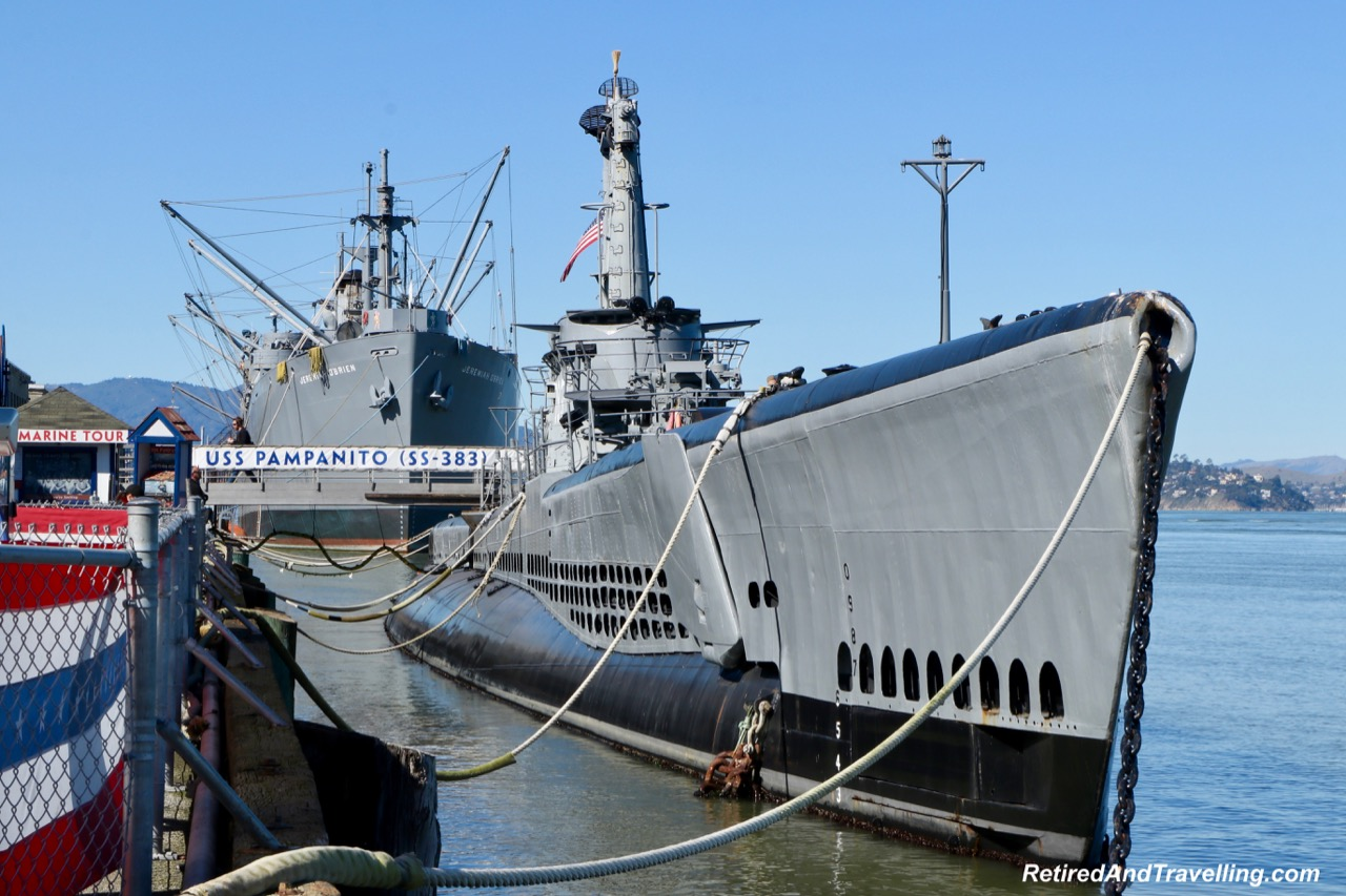 Pier 45 WWII Submarine Pampanito and Ship - Hills of San Francisco.jpg