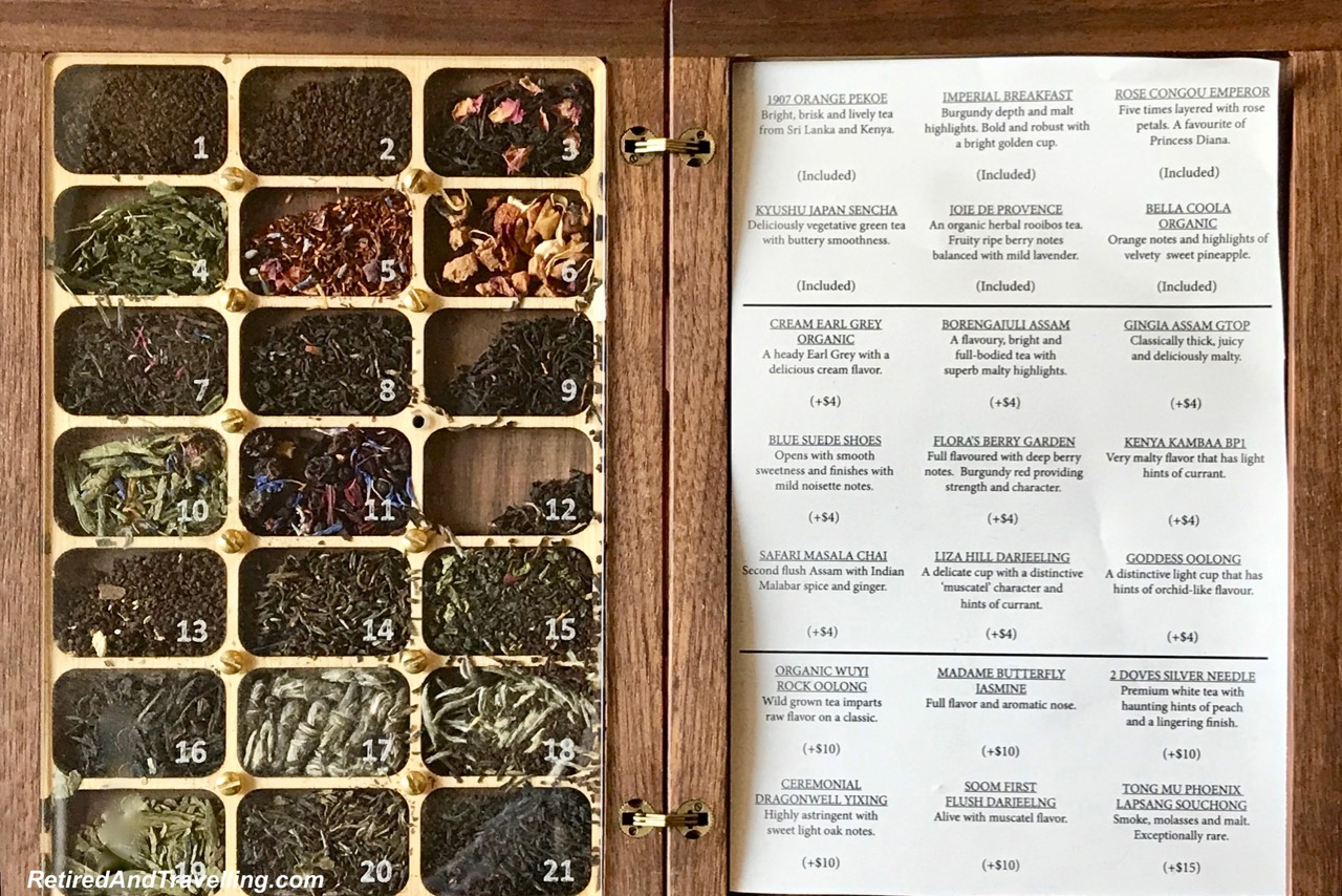Tea Selection - Experience Afternoon Tea At Fairmont Empress in Victoria.jpg