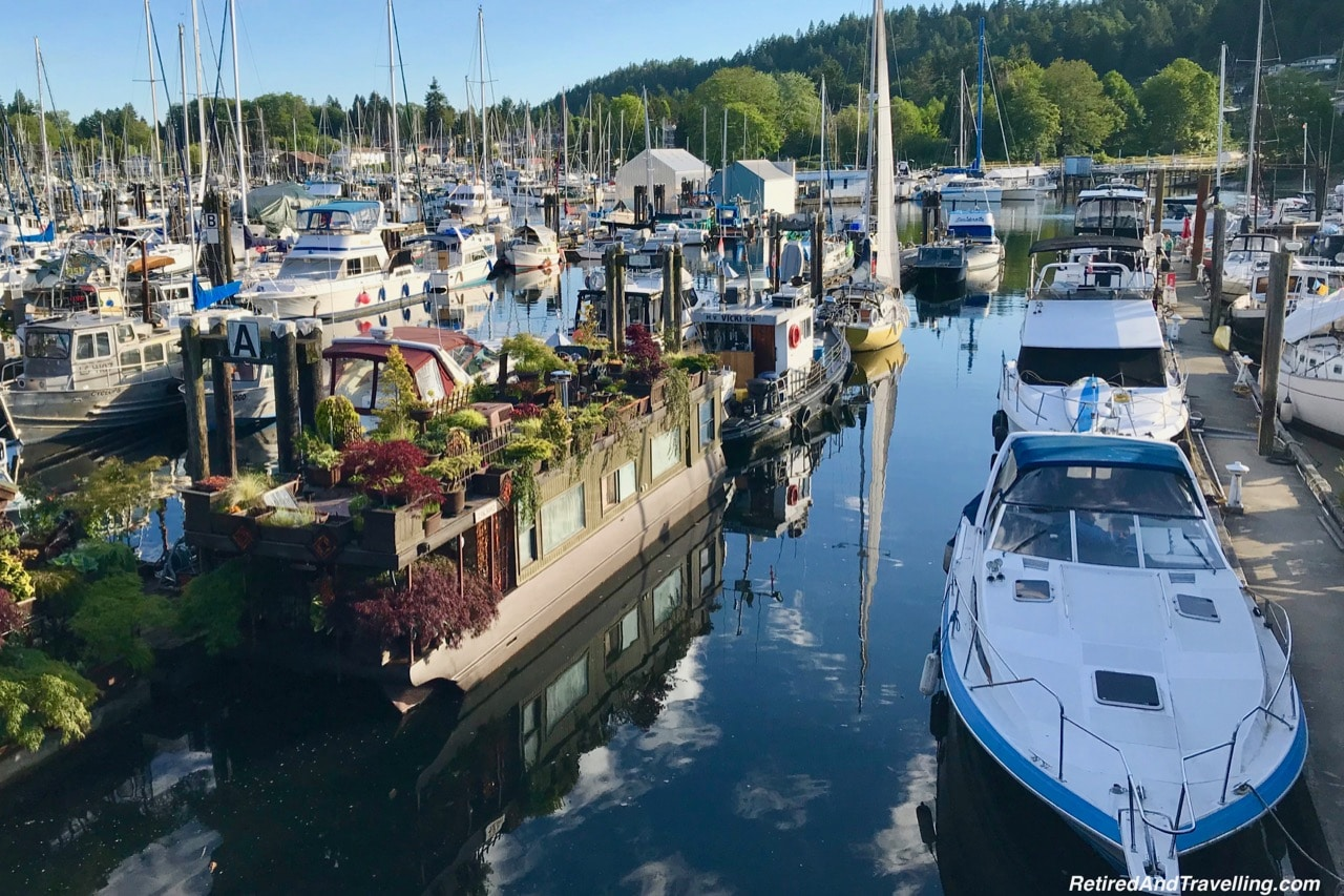 Gibsons Landing Harbour - First Stop On The Sunshine Coast in BC.jpg
