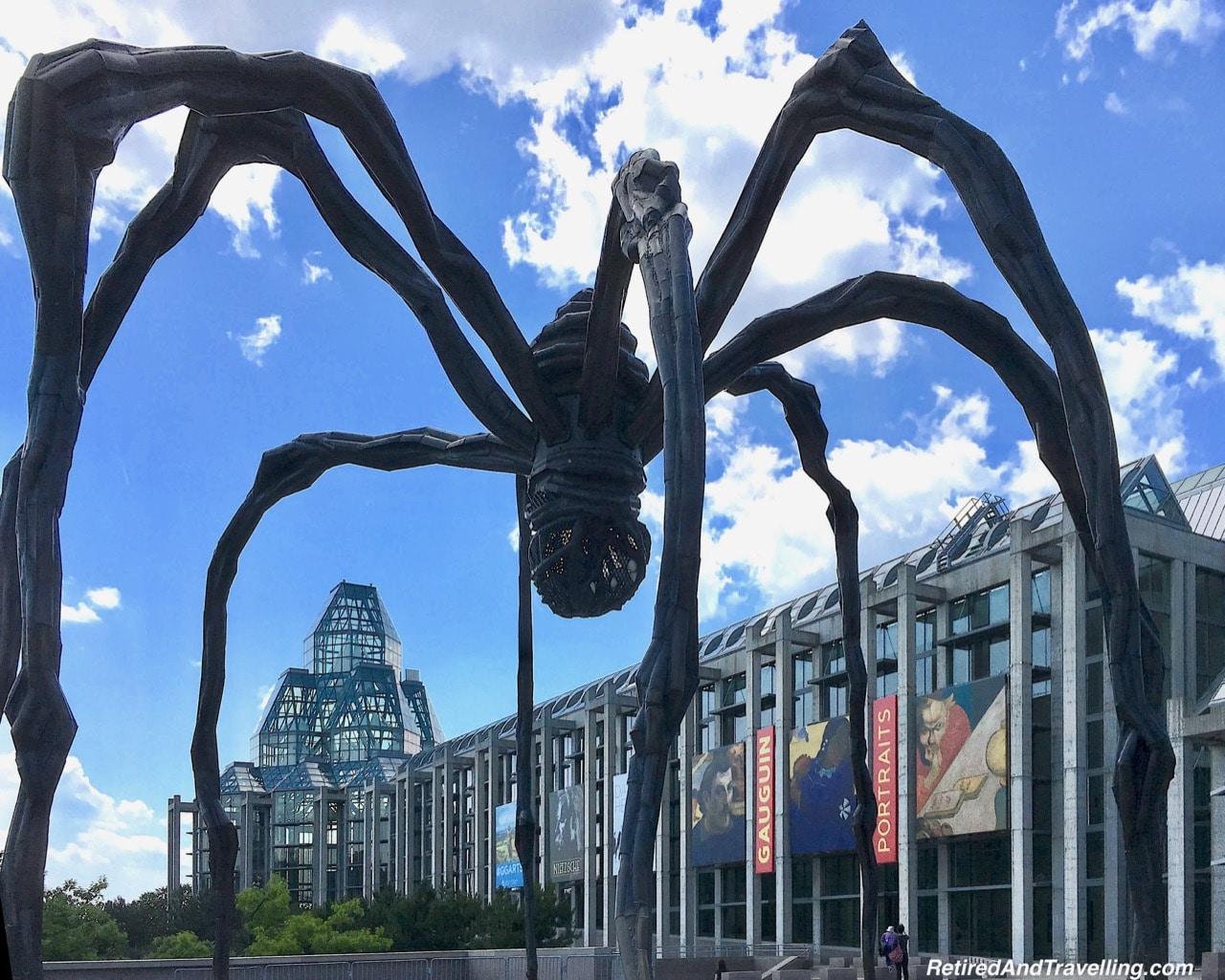Maman Spider Statue - Ottawa Canada Things To Do.jpg