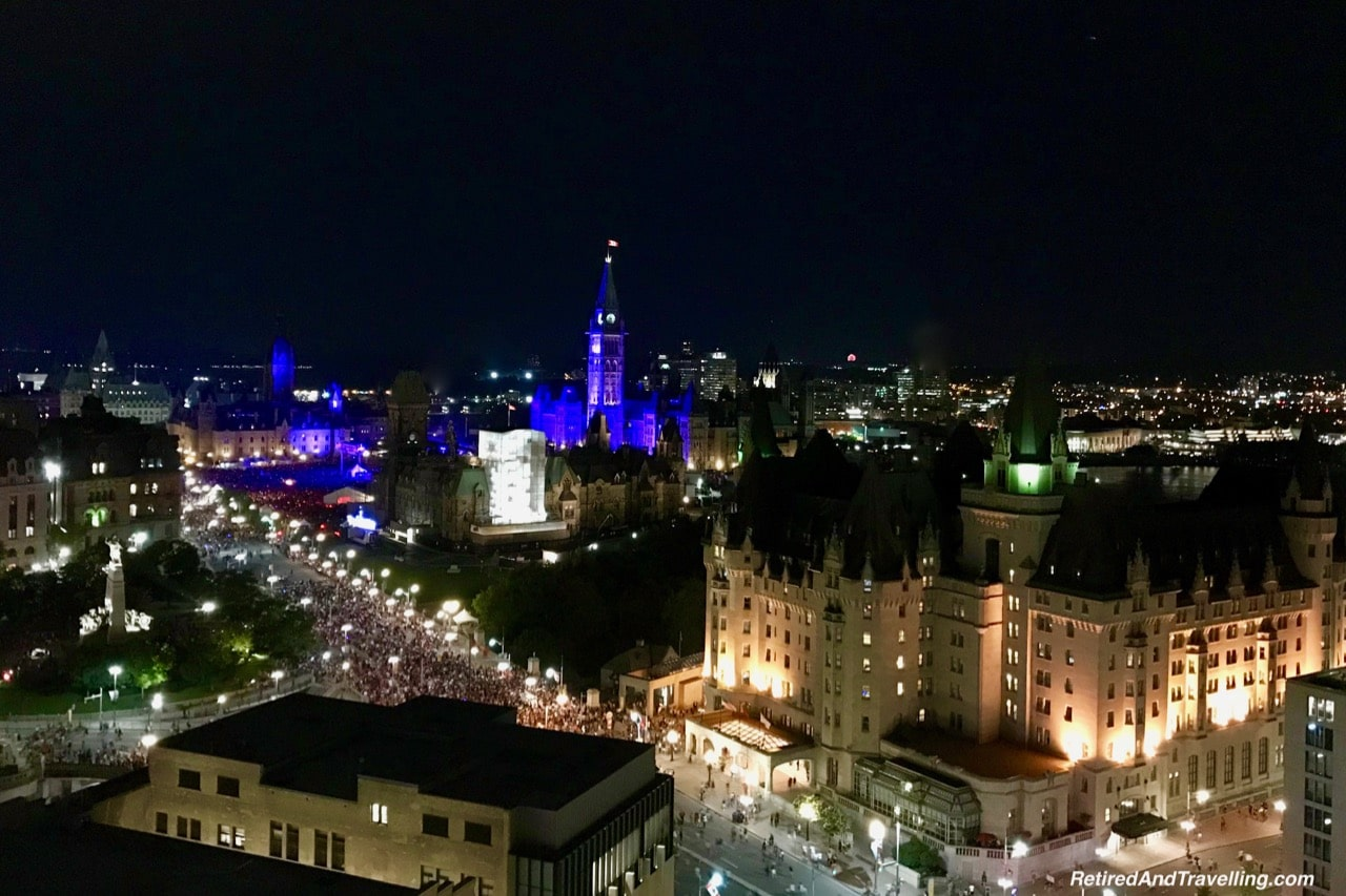 Westin Ottawa Patio Views Parliament Hill Sunset Night.jpg