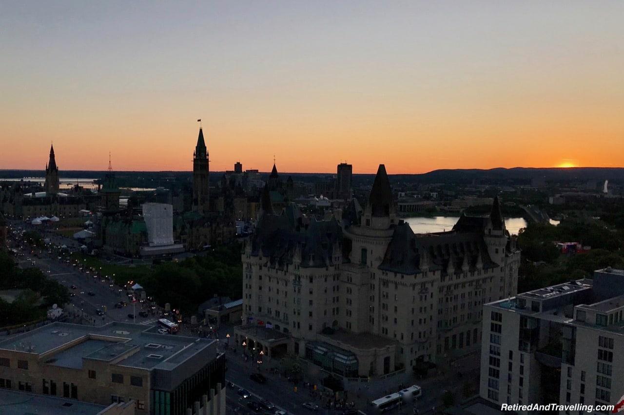 Westin Ottawa Patio Views Parliament Hill Sunset.jpg