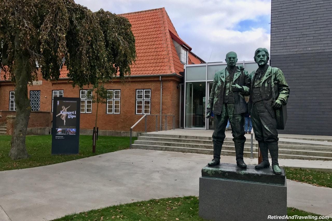 Skagen Museum Outside Statues - Things To Do In Skagen.jpg