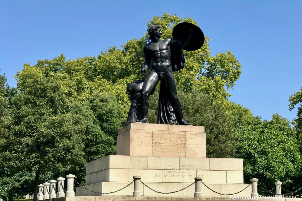 Hyde Park Statue Arthur Duke of Wellington - Stay By Hyde Park In London.jpg