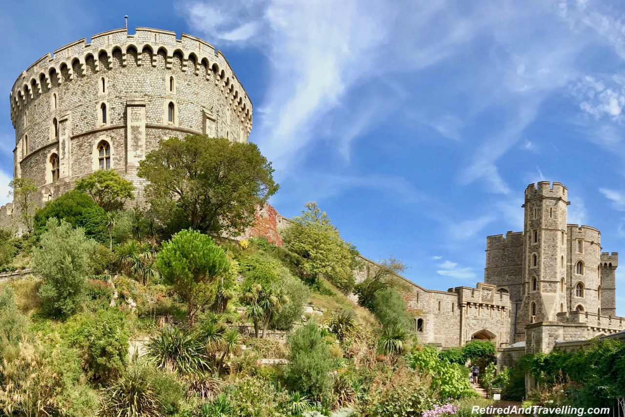 Windsor Castle Buildings - Towers and Garden - Salisbury, Stonehenge and Windsor Castle Day Trip Between Southampton And London.jpg