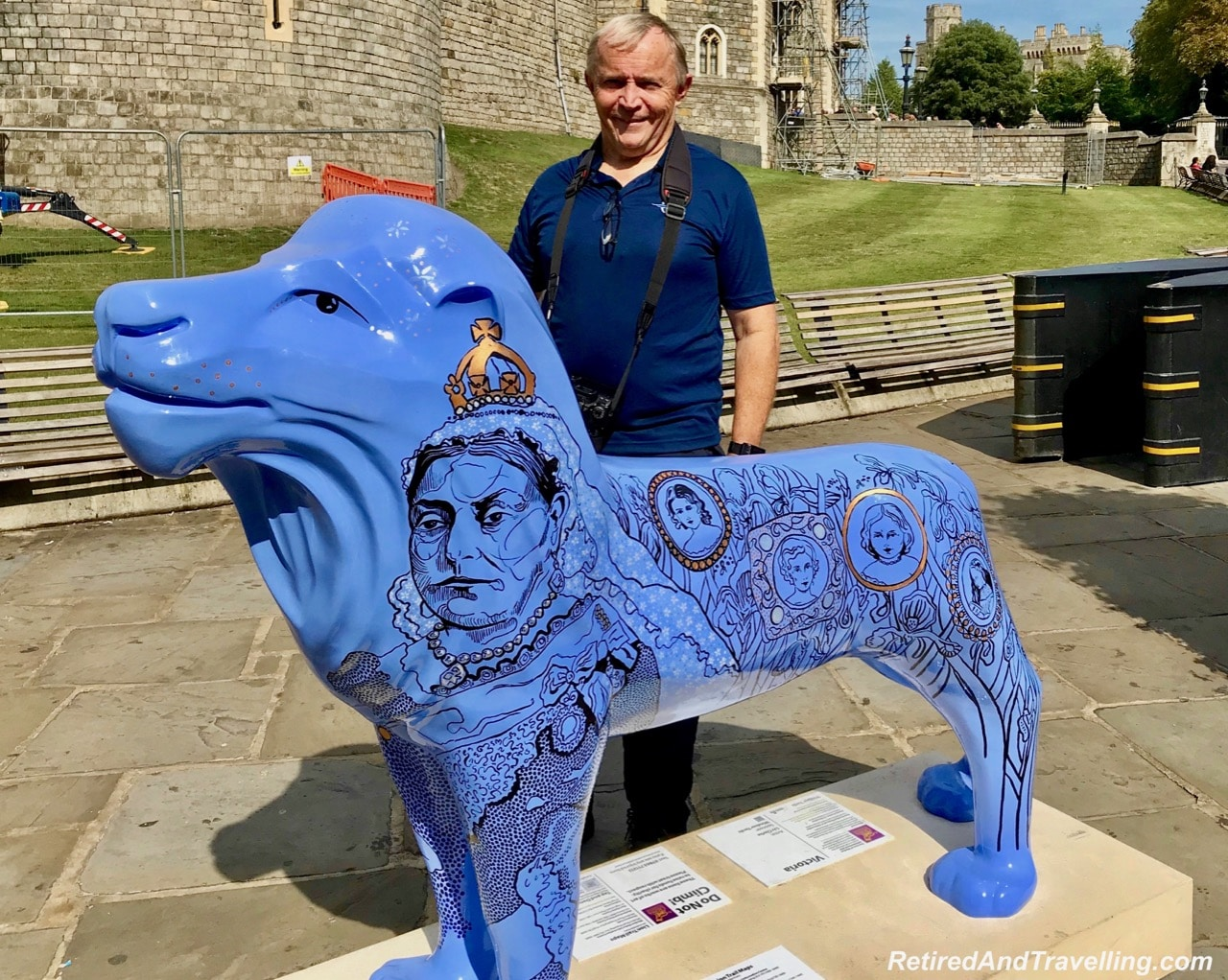 Windsor Castle Outside Walls - Royal Lion.jpg