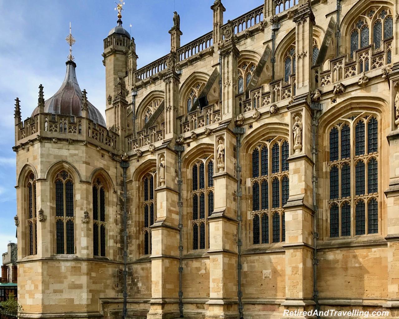 Windsor Castle Buildings - St George's Chapel - Salisbury, Stonehenge and Windsor Castle Day Trip Between Southampton And London.jpg