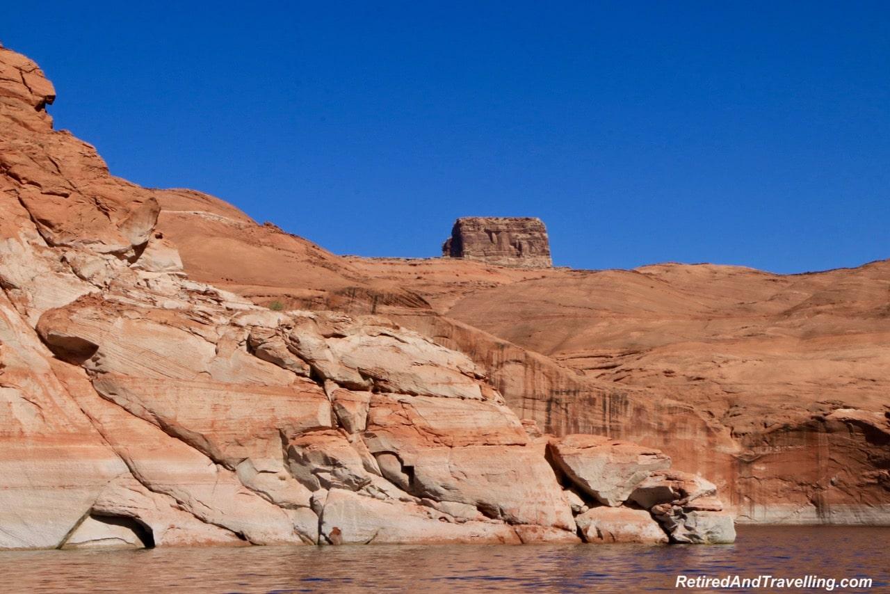 Boat Ride Rock Walls - Boating Navajo Canyon On Lake Powell.jpg
