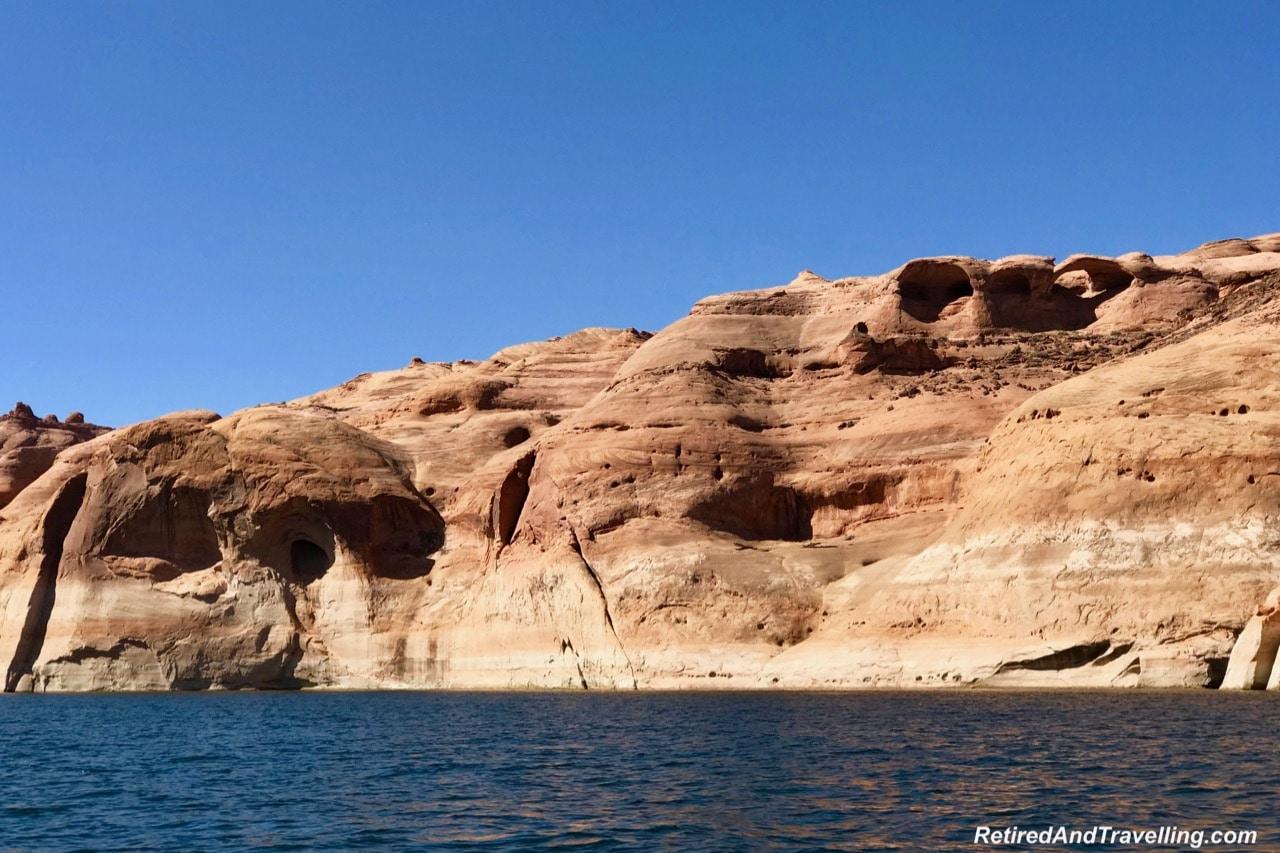 Boat Ride Rock Arches - Boating Navajo Canyon On Lake Powell.jpg