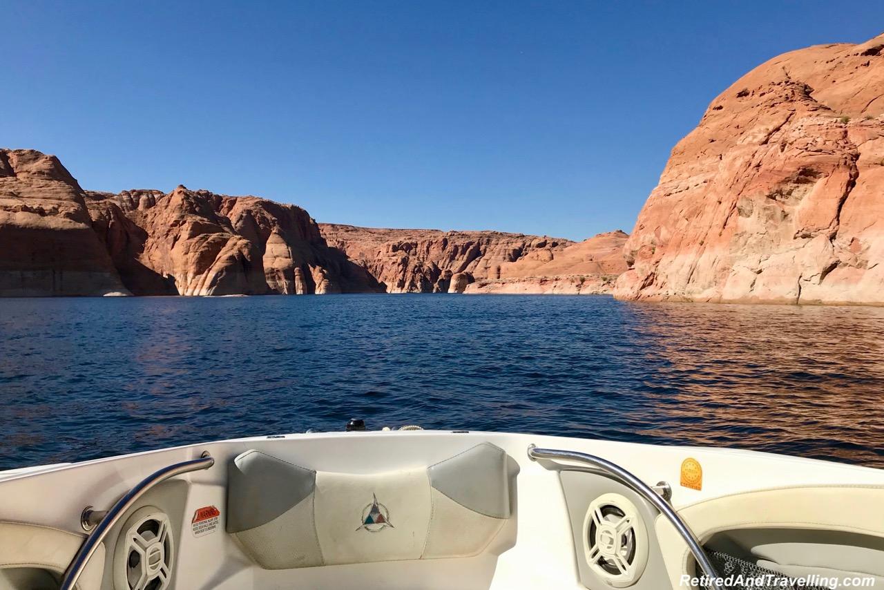 Boat Ride - Boating Navajo Canyon On Lake Powell.jpg